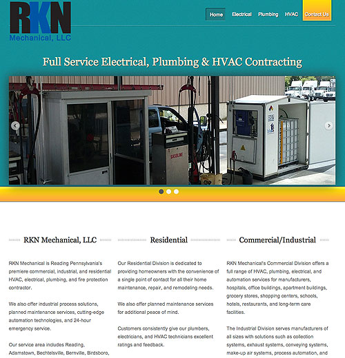 RKN Mechanical, LLC - Electrical, HVAC and Plumbing Contractor - Reading/Allentown, PA