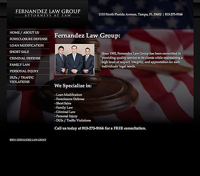 Fernandez Law Group: Tampa Florida Criminal Law, Family Law, Personal Injury & Foreclosure Defense Attorneys